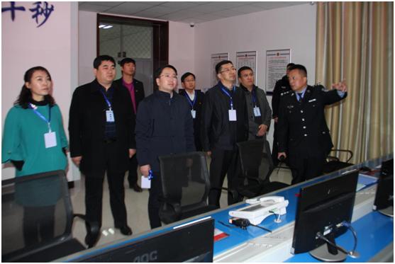 陈晓东在临河区看守所考核调研重点青少年服务管理工作