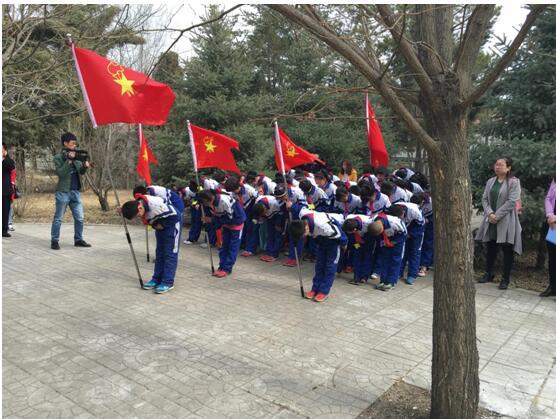 乌兰察布市凉城县集中开展清明祭英烈活动