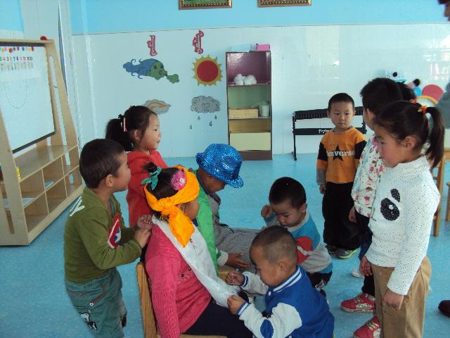 蒙古族幼儿园开展