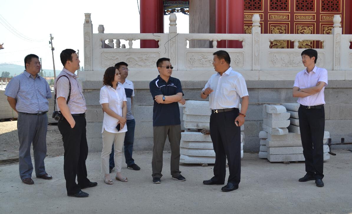 赤峰市团委领导到敖汉旗调研共青团工作